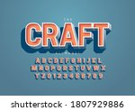 vector of stylized handcrafted... | Shutterstock .eps vector #1807929886