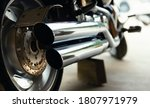 Horizontal Image Of Motorcycle...