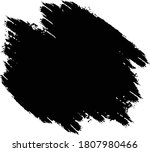 black paint stencil with... | Shutterstock .eps vector #1807980466