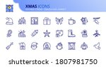 Outline Icons About Xmas....