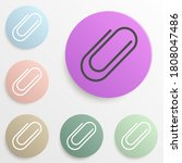clip badge color set. simple...