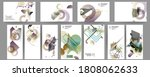 gradient mesh cover set of... | Shutterstock .eps vector #1808062633