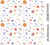 background with different types ... | Shutterstock . vector #1808070490