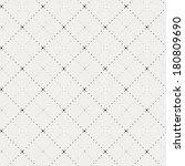 crossing dot pattern | Shutterstock .eps vector #180809690