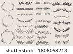 vintage ornament divider set... | Shutterstock .eps vector #1808098213