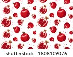 vector seamless pattern with...   Shutterstock .eps vector #1808109076
