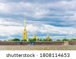 The Peter And Paul Fortress...