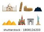 travel to world. tourist... | Shutterstock .eps vector #1808126203