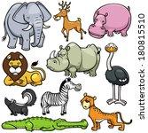 animals,cartoons,cheetah,crocodile,cute,deer,drawings,elephant,hippo,hippopotamus,illustration,jaguar,jungle,leopard,lion