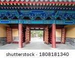 Chinese Classical Palace Gate...