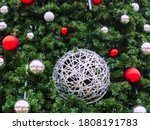 A Silver Wicker Ball Entwined...