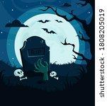 Halloween Background ...