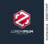 emblem z logotype font logotype   Shutterstock .eps vector #1808274349