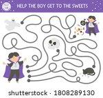 Halloween Maze For Children....