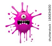 3d Object  Monster  Funny...