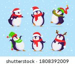 hand drawn vector set of cute... | Shutterstock .eps vector #1808392009