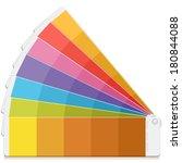 pantone palette book swatch
