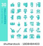 halloween icon for website ...   Shutterstock .eps vector #1808484403