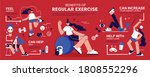 regular physical activity... | Shutterstock .eps vector #1808552296