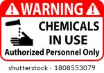 warning chemicals in use...   Shutterstock .eps vector #1808553079