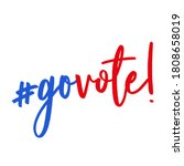 Go Vote   Vector Illustration....