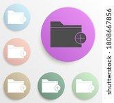 adding a folder badge color set....