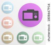 camera screen badge color set....