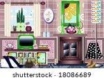 trendy funky retro graphic...   Shutterstock . vector #18086689
