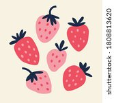 vector illustration of pink and ...   Shutterstock .eps vector #1808813620