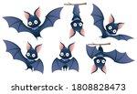 collection of cartoon halloween ... | Shutterstock .eps vector #1808828473