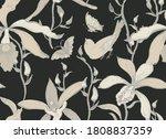 vector seamless floral pattern... | Shutterstock .eps vector #1808837359