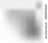 black and white dotted... | Shutterstock .eps vector #180890660