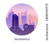 jacksonville  florida  usa.... | Shutterstock .eps vector #1808949979