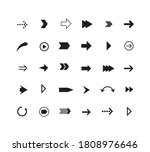 set of arrows. collection of... | Shutterstock .eps vector #1808976646