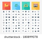 vector collection of flat and... | Shutterstock .eps vector #180899078