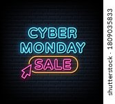 Cyber Monday Sale Neon Signs...