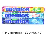 Постер, плакат: Mentos chewy dragees sold