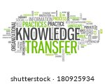 word cloud with knowledge... | Shutterstock . vector #180925934
