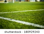 close up of artificial turf.... | Shutterstock . vector #180929243