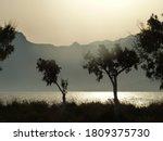 Picturesque Seashore In The...