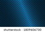 dark blue carbon fiber texture. ... | Shutterstock .eps vector #1809606730