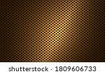 gold carbon fiber texture.... | Shutterstock .eps vector #1809606733