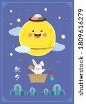 chuseok or hangawi   korean... | Shutterstock .eps vector #1809616279