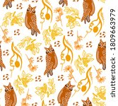 Seamless Graphic Pattern Of...