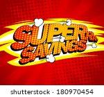 super savings design  comics...   Shutterstock .eps vector #180970454