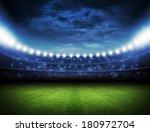 stadium | Shutterstock . vector #180972704