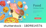 3d isometric flat vector... | Shutterstock .eps vector #1809814576