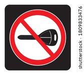 Turn Off Engine Icon On Black...