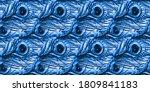 Peacock Clip Art. Blue...