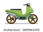 Retro Motorbike. Delivery Old...